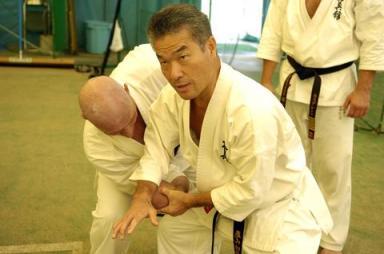 Kancho Royama teaching Bunkai.